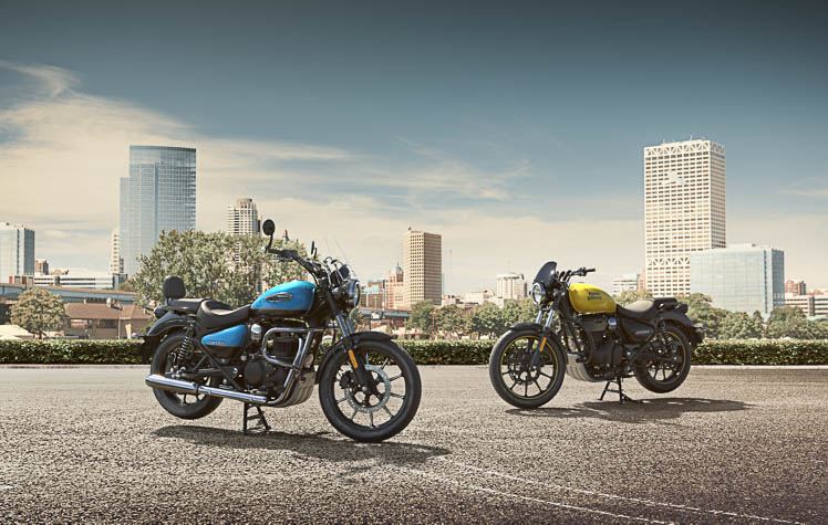 Royal enfield launches the all-new easy cruiser: the meteor 350
