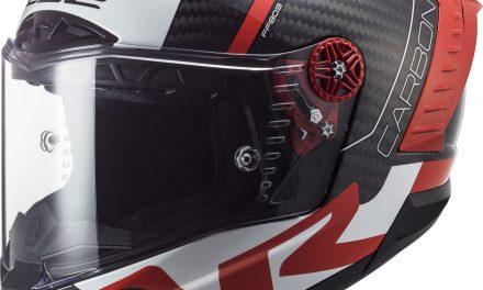 New carbon full-face helmet from LS2