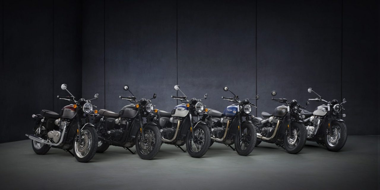 WELCOME TO THE UPDATED 2021 MODERN CLASSIC TRIUMPH BONNEVILLE FAMILY