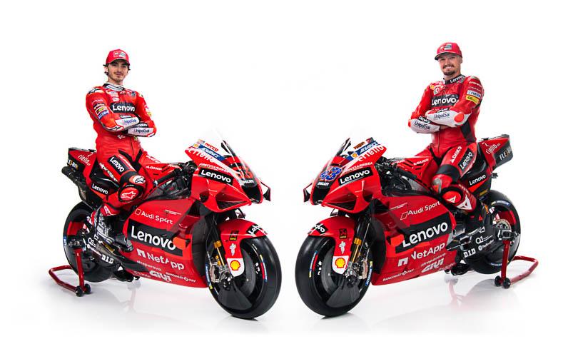 Lenovo announced as Title Partner of factory Ducati team in MotoGP