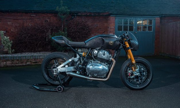 Royal Enfield reveals new custom build Continental GT 650 with Goblin Works Garage's Ant Partridge