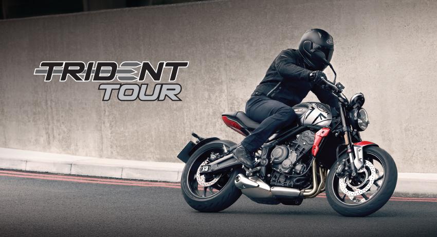 Triumph announces national Trident Tour