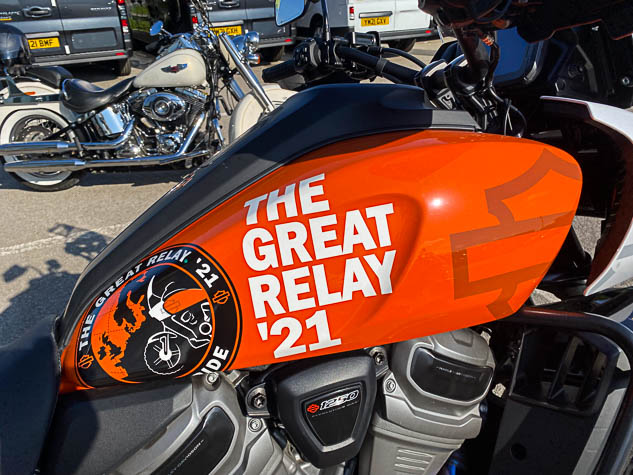 Harley-Davidson Great Relay '21 – Chapter and verse
