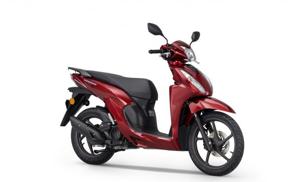 Vision 110 joins Honda's comprehensive range of A1 licence-compatible 125cc scooters and motorcycles for 2021
