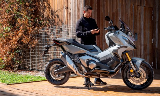 'Honda Smartphone Voice Control system' and Honda RoadSync app for motorcycles