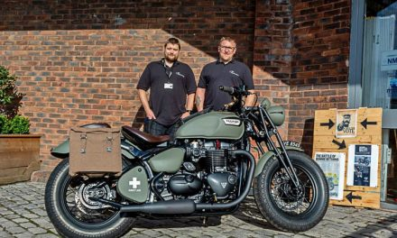 Triumph for Bristol-built custom motorcycle