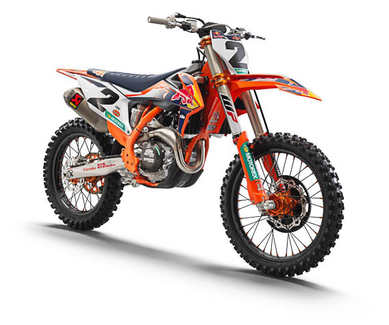 2021 KTM 450 SX-F FACTORY EDITION FUNNELs FLOW OF COMPETITION EXCELLENCE