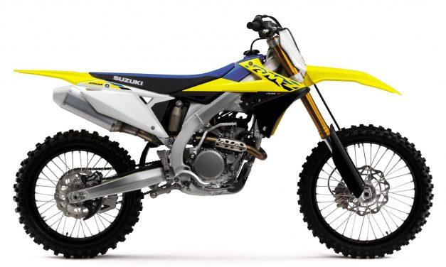 Pricing announced for Suzuki 2021 motocross range