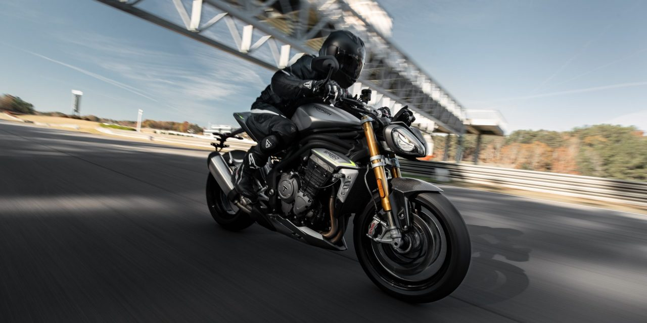 all-new triumph speed triple 1200 rs – the ultimate performance naked sports bike