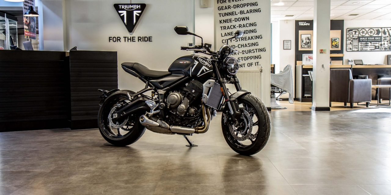 WIN A BRAND NEW TRIUMPH TRIDENT 660, BEFORE IT'S AVAILABLE TO TEST RIDE IN THE UK, WITH APEX 66!
