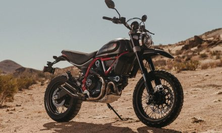 Desert Sled Fasthouse: limited, numbered edition of Ducati Scrambler to celebrate victory in Mint 400