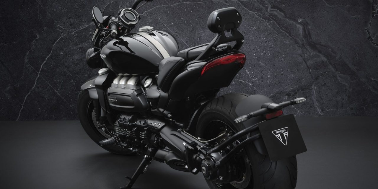 MEANER… MOODIER… IT'S GOT TO BE THE LIMITED EDITION TRIUMPH ROCKET 3 R BLACK OR 3 GT TRIPLE BLACK